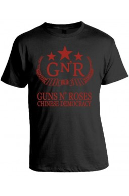 Camiseta Guns N' Roses Chinese Democracy - Modelo 02