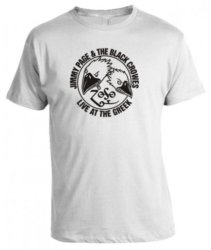 Camiseta Jimmy Page & The Black Crowes - Modelo 02