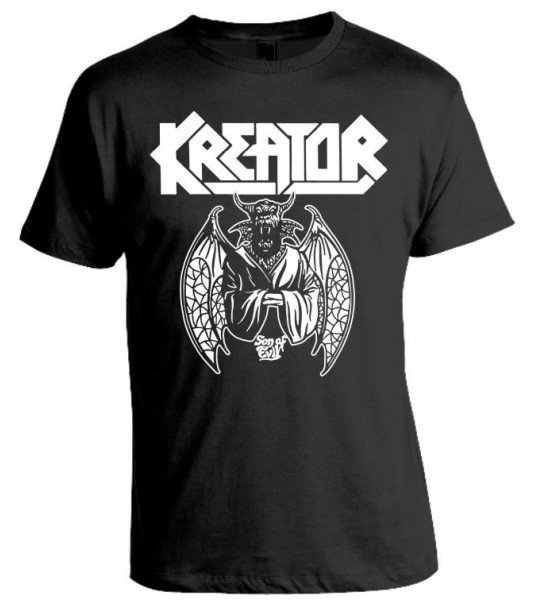 Camiseta Kreator - Son of Evil - Modelo 02