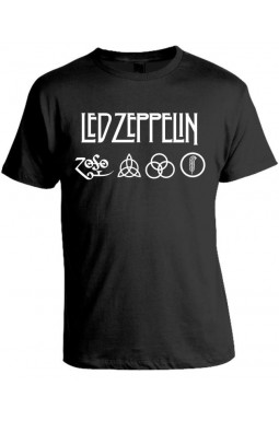 Camiseta Led Zeppelin - Modelo 02