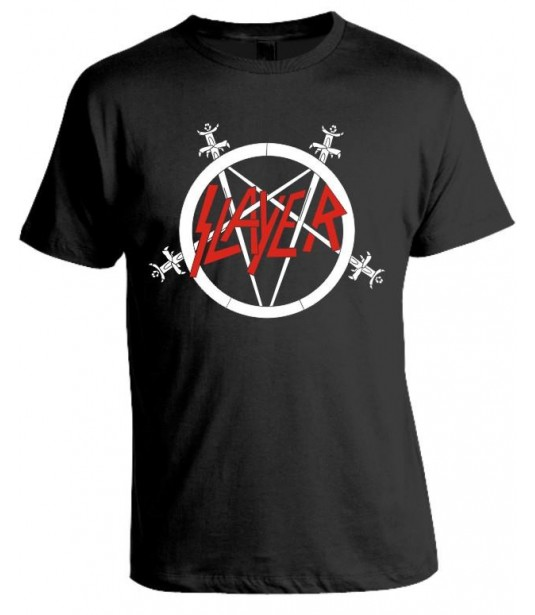 Camiseta Slayer - Modelo 04