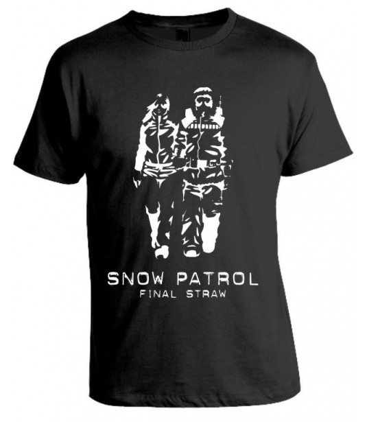 Camiseta Snow Patrol - Final Straw