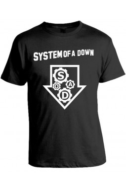 Camiseta System Of A Down - Modelo 05