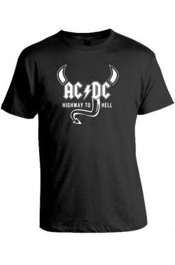 Camiseta AC - DC  - Highway to Hell