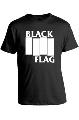 Camiseta Black Flag - Modelo 02
