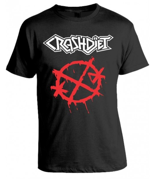 Camiseta Crashdiet