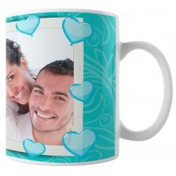 Caneca Namorados - amar é - com Foto - Modelo 02