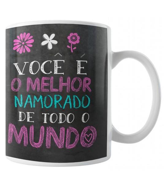 Caneca Namorados - Quadro Negro - Modelo 02