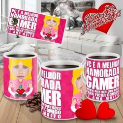 Caneca Vc é a Melhor Namorada Gamer