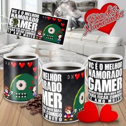 Caneca Vc é o Melhor Namorado Gamer