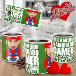 Caneca Vc é o Melhor Namorado Gamer - Modelo 02