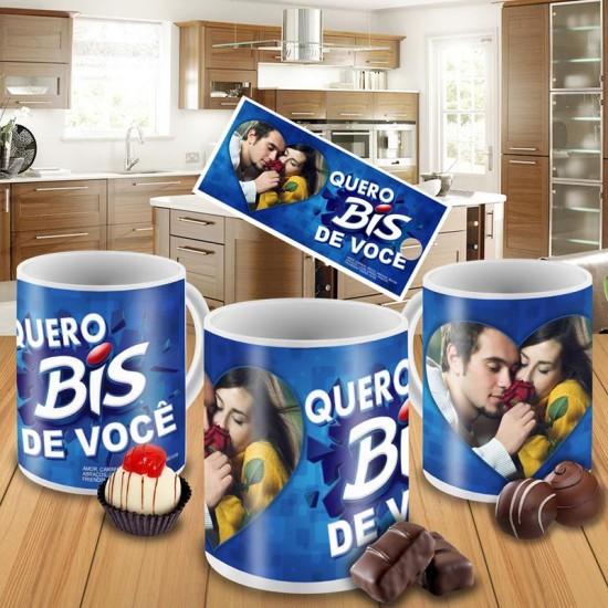 Caneca Bis com Foto
