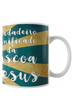 Caneca Jesus - Significado da Páscoa - Verde