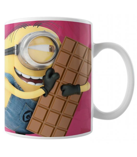 Caneca Minions - Meu Chocolate Favorito - Modelo 02