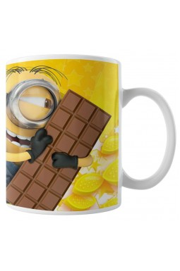 Caneca Minions - Meu Chocolate Favorito - Modelo 03