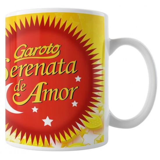 Caneca Serenata de Amor com Foto
