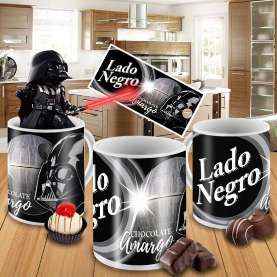 Caneca Star Wars - Lado Negro