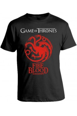 Camiseta Game Of Thrones - Fire And Blood - Targaryen