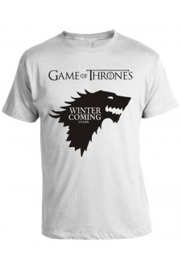 Camiseta Game Of Thrones - Winter is Coming - Stark