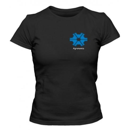 Camiseta Universitária Agronomia Bordada