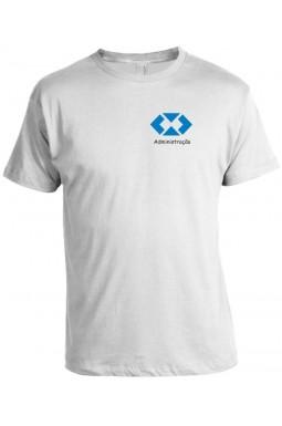 Camiseta Universitária Administração - Bordada