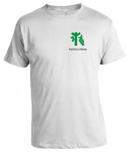 Camiseta Universitária Arquitetura e Urbanismo Bordada