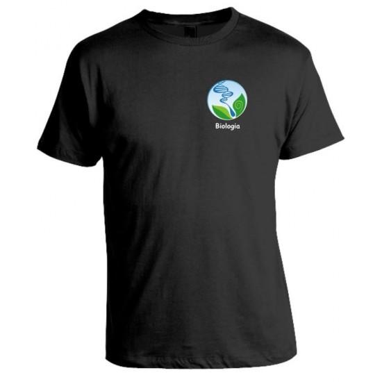 Camiseta Universitária Biologia Bordada