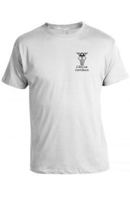 Camiseta Universitária Ciências Contábeis Bordada