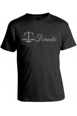 Camiseta Universitária Direito - Prata