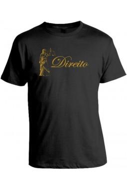 Camiseta Universitária Direito - Modelo 02