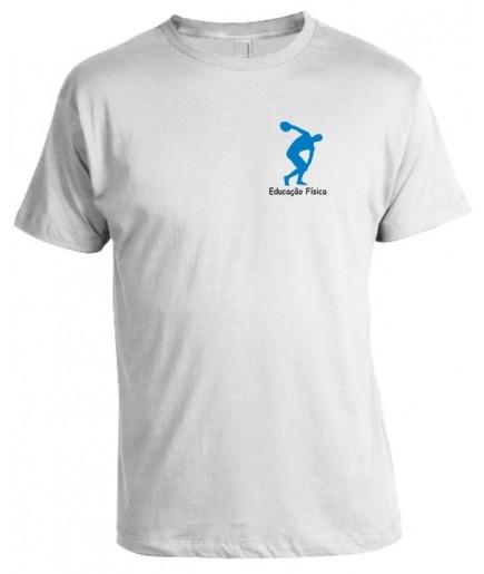 Camiseta Universitária Educação Física Bordada