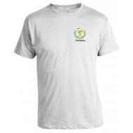 Camiseta Universitária Farmácia - Modelo 02 - Bordada