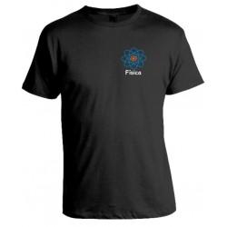 Camiseta Universitária Física Bordada