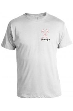 Camiseta Universitária Geologia Bordada