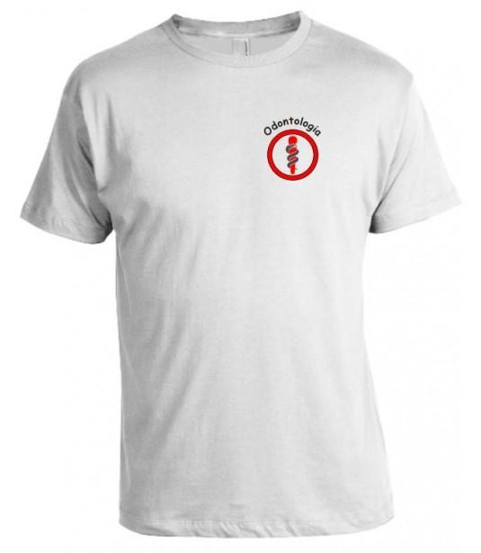 Camiseta Universitária Odontologia Bordada