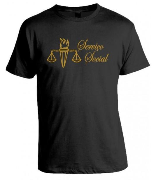 Camiseta Universitária Serviço Social